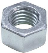 Ecrou acier zingué hexagonal 6 pans diam.18mm en vybac de 20 pièces - Boulons - Ecrous - Rondelles - Quincaillerie - GEDIMAT