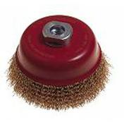 Brosse circulaire forme coupe pour meuleuse diam.100mm fil d'acier - Consommables et Accessoires - Outillage - GEDIMAT