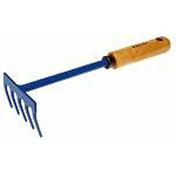 Râteau de balcon 5 dents acier forgé manche bois frêne verni 12,7cm - Outillage du jardinier - Outillage - GEDIMAT