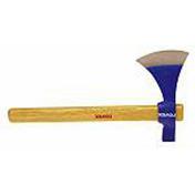 Hache à tête oeil oval acier forgé 600g manche bois frêne verni - Outillage du jardinier - Plein air & Loisirs - GEDIMAT