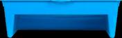 Bac à peinture polypropylène haut.34cm larg.25,3cm bleu - Spatule de carreleur caoutchouc rigide larg.18cm - Gedimat.fr