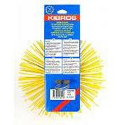 Hérisson de ramonage rond nylon diam.200mm - Accessoires de ramonage - Chauffage & Traitement de l'air - GEDIMAT