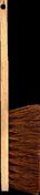 Balayette fibres coco 3 rangs semelle et manche bois 45cm - Fenêtre bois exotique lamellé collé sans aboutage isolation totale 140mm 1 vantail ouvrant à la française vitrage imprimé gauche tirant haut.95cm larg.60cm, - Gedimat.fr