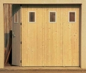 Portes de garage gedimat for Porte de garage coulissante motorisee tarif