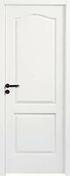 Bloc-porte postform� CAEN huisserie 72x57mm pr�peinte � recouvrement haut.2,04m larg.83cm droit poussant - Profil PVC raccord clipsable pour lambris �p.8 � 10mm long.2,60m blanc - Gedimat.fr