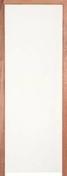 Bloc-porte coupe-feu 1H (EI 60) avec serrure huisserie de 78x56mm haut.2,04m larg.93cm droit poussant - Panneau de Particule Surfacé Mélaminé (PPSM) ép.8mm larg.2,07m long.2,80m Grimsey finition Velours Bois poncé - Gedimat.fr