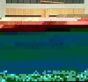 Porte de garage 2 vantaux en bois (sapin) haut.2,00m larg.2,40m - Portes de garage - Menuiserie & Am�nagement - GEDIMAT
