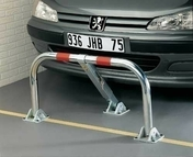 Barri�re de parking 45x98cm - Portes de garage - Menuiserie & Am�nagement - GEDIMAT