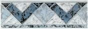 Listel carrelage pour mur en faïence TRAMA larg.6,5cm long.20cm coloris azurro - Carrelages murs - Cuisine - GEDIMAT