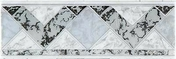 Listel carrelage pour mur en faïence TRAMA larg.6,5cm long.25cm coloris grigio - Listel carrelage pour mur en faïence CARAIBI larg.6,5cm long.20cm coloris beige vert - Gedimat.fr