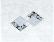 Décor Inserto carrelage pour mur en faïence TRAMA larg.20cm long.25cm coloris grigio - Brique terre cuite base POROTHERM T20 ép.20cm haut.24cm long.50cm - Gedimat.fr
