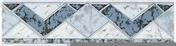 Listel carrelage pour mur en faïence TRAMA larg.6,5cm long.25cm coloris azurro - Carrelages murs - Cuisine - GEDIMAT