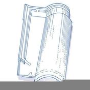 Tuile de verre OMEGA long.49,5cm larg.30cm - Tuiles et Accessoires - Couverture & Bardage - GEDIMAT