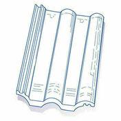 Tuile de verre GRANDE ROMANE TMB long.42cm larg.33cm - Tuiles et Accessoires - Couverture & Bardage - GEDIMAT