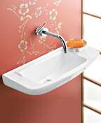 Lave-mains ELFE IDEAL STANDARD en porcelaine larg.23,5cm long.50cm blanc - Kit VMC simple flux SIMPLY'AIR 4S - Gedimat.fr