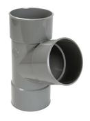 Culotte PVC d'évacuation d'eau usée NICOLL femelle-femelle simple coloris gris UBT166 diam.100mm angle 67° - Porte d'entrée LUCILLE Aluminium laqué gauche poussant haut.2,15m larg.90cm gris - Gedimat.fr