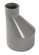 Réduction extérieure PVC NICOLL mâle diam.100mm femelle diam.50mm coloris gris - Panneau roulé de laine de verre TI 212 revêtu kraft ép.100mm larg.1.20m long.9.00m - Gedimat.fr