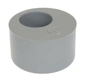 Tampon de réduction simple PVC Nicoll coloris gris diam.100mm femelle diam.50mm - Collier universel diam.6 à 21,5cm lot de 2 pièces - Gedimat.fr