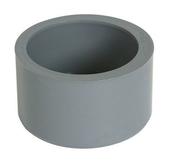 Tampon de réduction simple PVC Nicoll coloris gris diam.100mm femelle diam.80mm - Piquet fraisé épointé diam.6cm long.2,00m pin - Gedimat.fr