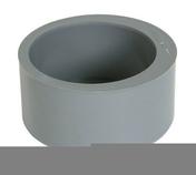 Tampon de réduction simple PVC Nicoll coloris gris diam.125mm femelle diam.100mm - Porte d'entrée ZEN en aluminium droite poussant haut.2,15m larg.90cm laqué blanc - Gedimat.fr