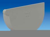 Fond de naissance à coller droit pour gouttière PVC de 25 coloris gris clair - Abattant en bois réticulé TRADITION blanc - Gedimat.fr
