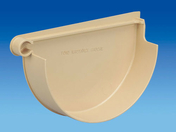Fond de naissance à coller gauche pour gouttière PVC de 25 coloris sable - Poutre VULCAIN section 20x30 cm long.3,00m pour portée utile de 2.1 A 2.60m - Gedimat.fr