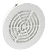 Grille d'aération NICOLL ronde simple avec moustiquaire pour tuyau PVC diam.125mm coloris blanc - Lanterne bi-section diam.120/150mm coloris paysage - Gedimat.fr