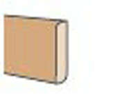 Plinthe revétue ép.12mm haut.6cm long.2,00m créatif pin de Chine - Radiateur à inertie réfractite ETAMINE II 1500W haut.58cm larg.90cm prof.13,5cm blanc - Gedimat.fr
