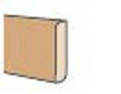 Plinthe revétue ép.12mm haut.6cm long.2,00m créatif pin de Chine - Abri en sapin du nord BIKE BOX ép.12mm dim.1,80x0,9m - Gedimat.fr