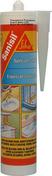 Mastic silicone SANISIL cartouche de 300ml translucide - Plan de travail stratifié ép.28mm larg.0,61m long.2,90m R4 décor bronze noir - Gedimat.fr