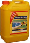 Hydrofuge SIKA LIQUIDE bidon de 5L - Hydrofuge en poudre SUPER SIKALITE dose de 1kg - Gedimat.fr