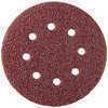 Disque Velcro perforé 8 trous diam.115mm grain 40 lot de 5 pièces - Porte d'entrée HANOI en aluminium laqué gauche poussant haut.2,15m larg.90cm gris/blanc - Gedimat.fr