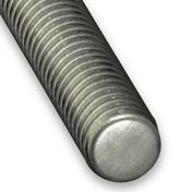 Tige filetée acier zingué diam.7mm long.1m en vrac de 1 pièce - Kit garde-corps sapin Fuseaux chanfreinés haut.1,00m long.1,00m - Gedimat.fr