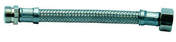 Flexible d'alimentation sanitaire inox mâle-femelle à visser diam.12x17mm long.1m sur plaquette 1 pièce - Flexibles d'alimentation - Plomberie - GEDIMAT