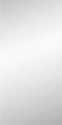 Miroir argent rectangulaire adhésif bords polis ép.4mm larg.30cm long.60cm - Armoires de toilette et Accessoires - Salle de Bains & Sanitaire - GEDIMAT