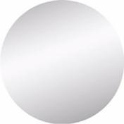 Miroir argent rond adhésif bords polis ép.4mm diam.42cm - Armoires de toilette et Accessoires - Salle de Bains & Sanitaire - GEDIMAT