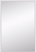 Miroir argent rectangulaire adhésif bords biseautés 10mm ép.4mm larg.30cm long.44cm - Armoires de toilette et Accessoires - Salle de Bains & Sanitaire - GEDIMAT