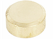 Patte de fixation miroir diam.2cm laiton poli - Armoires de toilette et Accessoires - Salle de Bains & Sanitaire - GEDIMAT