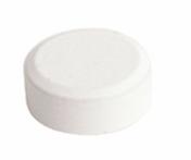 Patte de fixation miroir diam.2cm laqué blanc - Armoires de toilette et Accessoires - Salle de Bains & Sanitaire - GEDIMAT