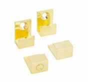 Patte de fixation miroir diam.2cm doré - Armoires de toilette et Accessoires - Salle de Bains & Sanitaire - GEDIMAT