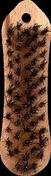 Brosse violon métallique fil acier laitonné 5 rangs semelle bois 20,5cm - Polystyrène expansé Knauf Therm TTI Th36 SE BA ép.100mm long.1,20m larg.1,00m - Gedimat.fr