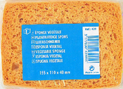 Eponge végétale cellulose fine dim.115x110x40mm - Lasure bois protection forte indice 45 LX545 pot de 5L satinée chêne - Gedimat.fr