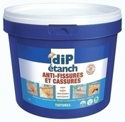 Anti fissures et cassures DIP ETANCH coloris gris 2,5L - Colle fixation PATTEX Ni Clous Ni Vis chrono invisible cartouche de 310g - Gedimat.fr