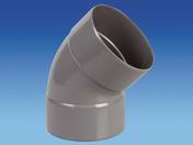 Coude d'évacuation en PVC à 45° femelle-femelle diam.110mm - Double rive 3/4 pureau pour tuiles DC12 coloris vieilli bourgogne - Gedimat.fr