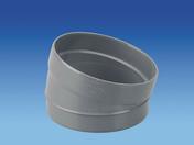 Secteur de coude en PVC mâle-femelle 15° diam.100mm - Laine de verre en panneau roulé HOMETEC 35 nu ép.100mm larg.1,20m long.6m - Gedimat.fr