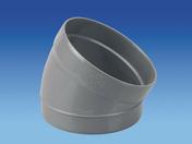 Secteur de coude en PVC mâle-femelle 30° diam.100mm - Tubes et Raccords d'évacuation eau - Plomberie - GEDIMAT