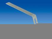 Hampe galvanisée droite pour crochet de gouttière PVC long.développée 335mm - Enduit de parement traditionnel PARDECO TYROLIEN sac de 25kg coloris O43 - Gedimat.fr