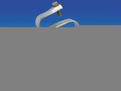 Support couverture ondulée galvanisée - Accessoires de fixation - Couverture & Bardage - GEDIMAT