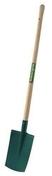 Bêche à rebord acier trapézoidal manche bois de frêne droit larg.17/20cm haut.28cm - Cordeau coton câblé diam.2mm pelote de 100g environ 49m blanc - Gedimat.fr