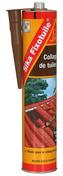 Mastic colle souple SIKA FIXOTUILE terre cuite cartouche de 300ml - Raccord pour fenêtre VELUX sur ardoises EDL UK04 type 0000 pose traditionnelle - Gedimat.fr